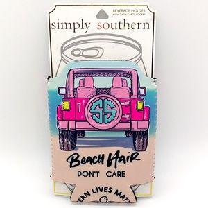 Simply Southern Beach Hair Koozie